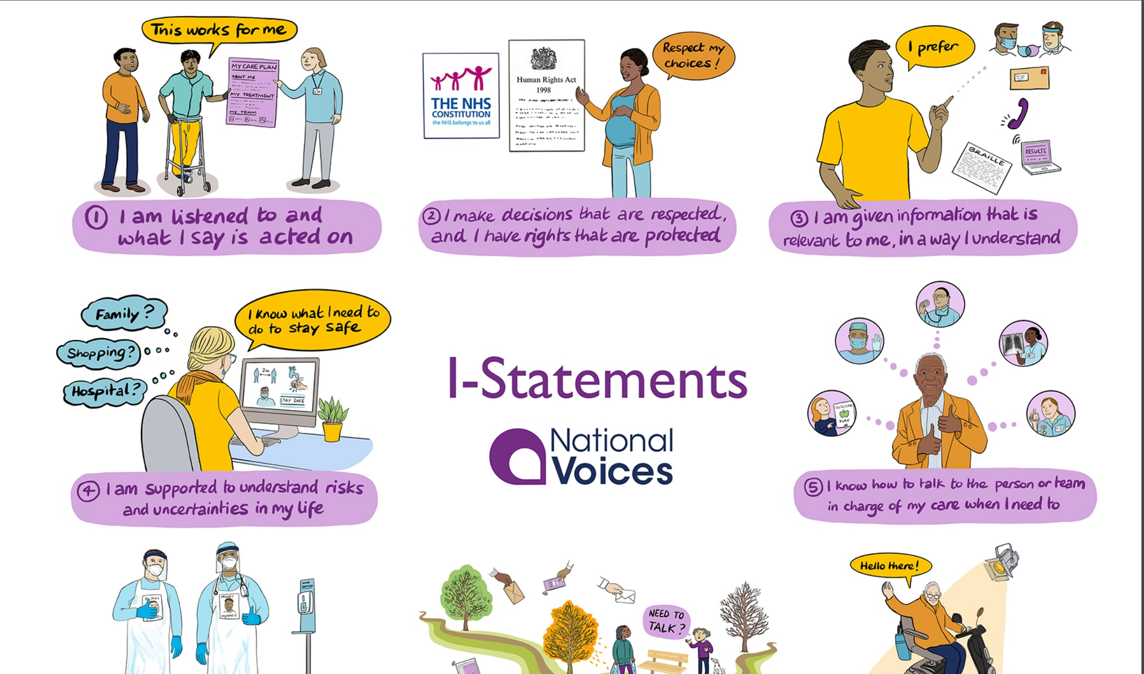 Vy Tran National Voices Statements
