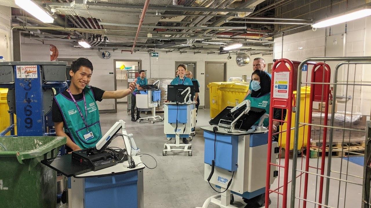 Active response volunteers at Bart's Health NHS Trust